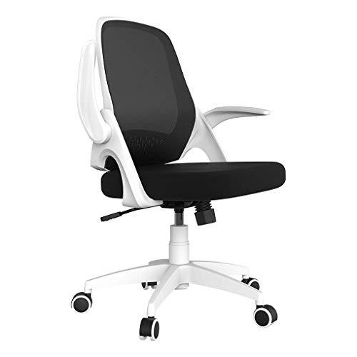 Hbada Chaise de bureau avec accoudoirs pliables