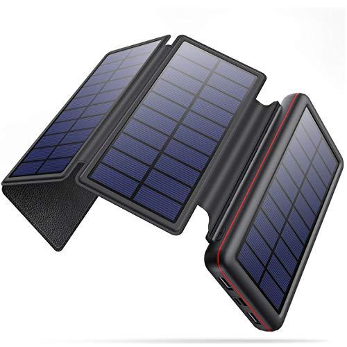 iPosible Chargeur Solaire imperméable 26800mAh