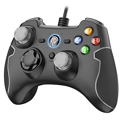 EasySMX [Manette PC PS3 Filaire] Manette PS3 Filaire avec Double...