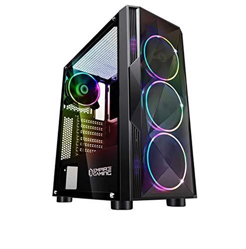EMPIRE GAMING – Boitier PC Gamer Diamond - ARGB Moyenne Tour...
