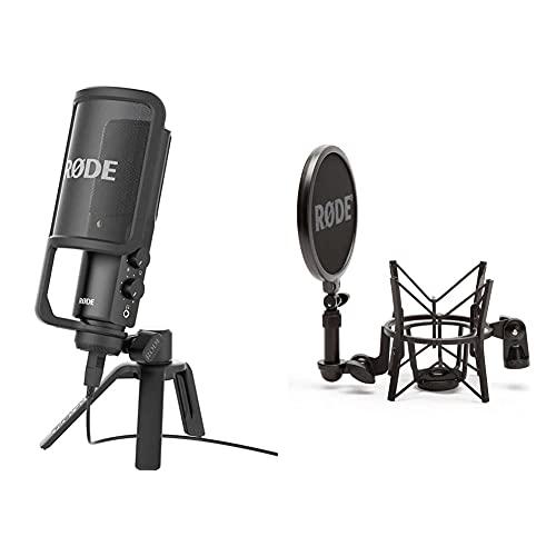 Rode NT-USB Microphone Noir & SM6