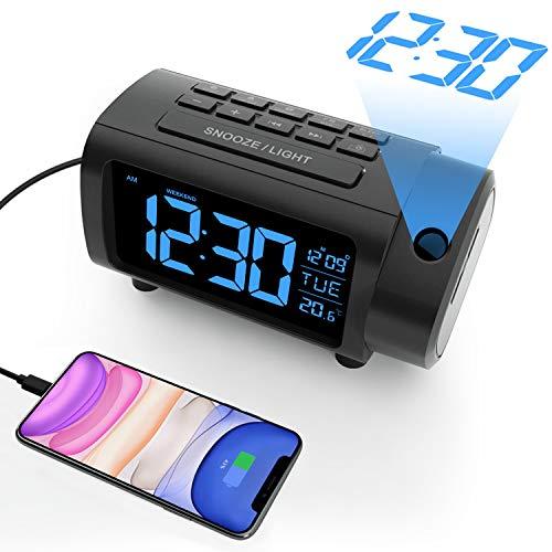 Radio réveil à projection Liorque