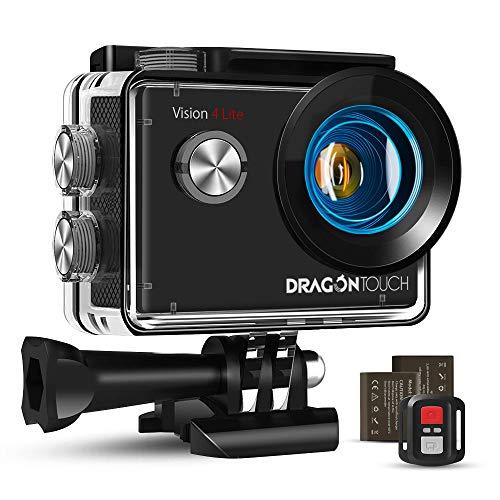 Dragon Touch Caméra Sport 4K Vision 4 Lite Ultra HD