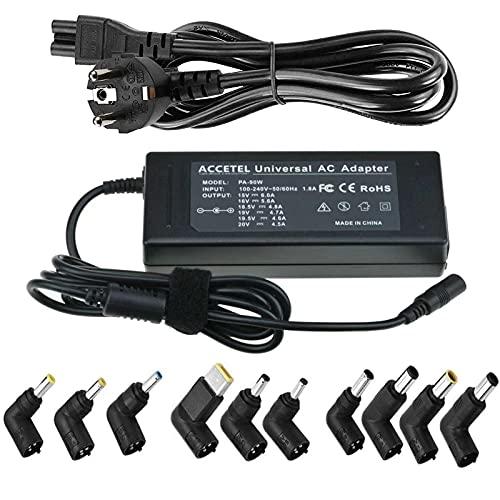 Chargeur universel 90 W pour ordinateur portable avec adaptateur...