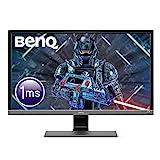BenQ EL2870U écran Gaming de 28 pouces, 4K UHD, 1ms, HDR, EyeCare, FreeSync, Capteur de luminosité ambiante B.I. Plus, HDMI, Display Port, Hautparleurs