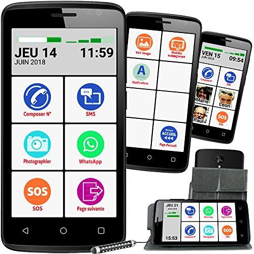 Mobiho-Essentiel Le SMART INITIAL 5 pouces, interface senior pour...