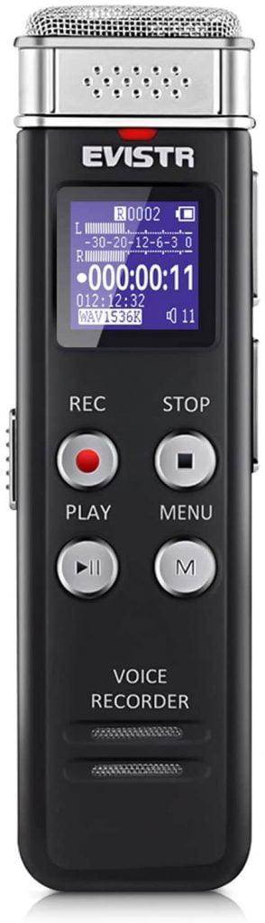 meilleur dictaphone numérique